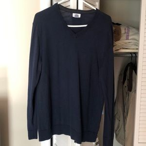 Blue Old Navy V-Neck Sweater
